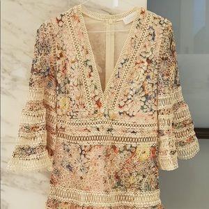 Zimmermann lace detail dress